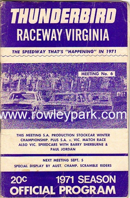Cars By John Munro >> Home - Welcome to Rowley Park Speedway 'The place where ...
