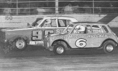 Graham Benneche # 96 Holden Phil Hosking # 6 Mini