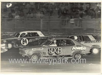 Graham Benneche and Wayne Pinnegar