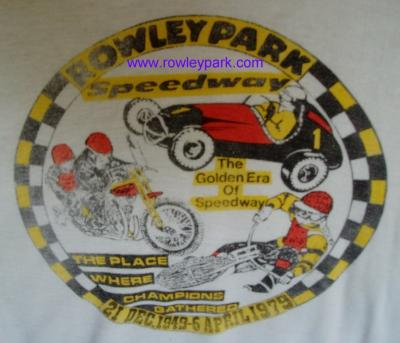 Rowley Park T Shirt