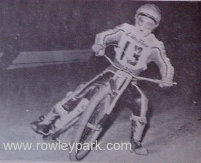 Kym Amundsen at Rowley Park 1979.