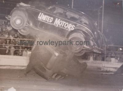 Stock Cars at Rowley Park.