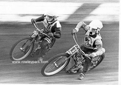 Lou Sansom and Phil Bass.