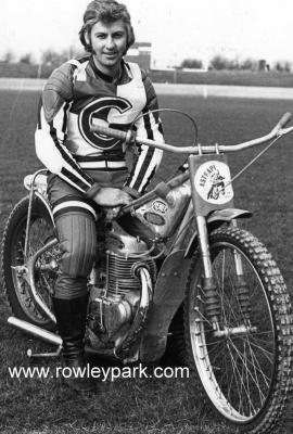 Lou Sansom in England 1975.