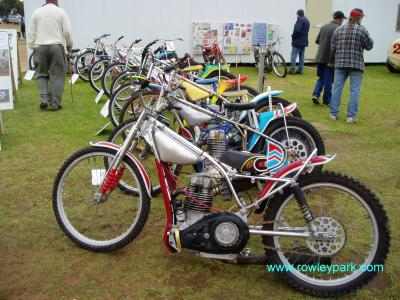 Old Solo's on display at Murray Bridge Speedway