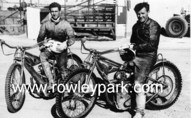 Gerry Hussey and Jack Young.