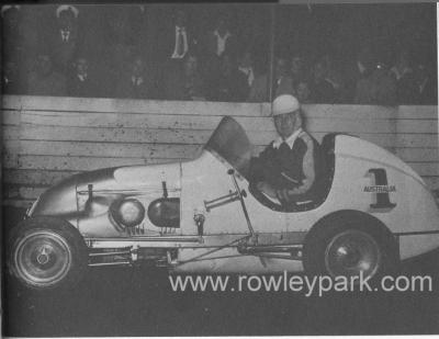 Ray Revell a Pioneer of Speedcar Racing in Australia.