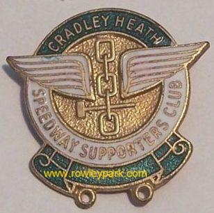 Cradley Heath Speedway Badge