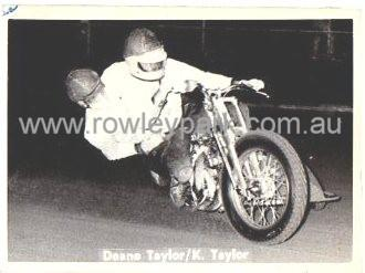 Deane and Kevin Taylor