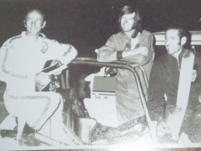 The late Colin  Hennig, Ross Smith  and  Dean Hogarth.....