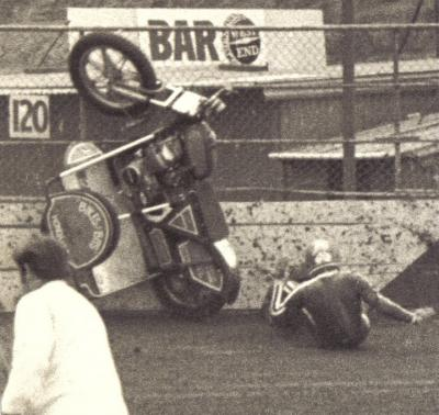 Sidecar crash....