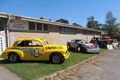Cars on display at  a reunion on the 22nd of September 2013