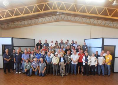 Past and present drivers at the 22 / 09 /13 reunion.