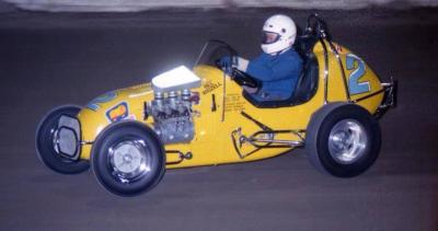 Ian Gear..  Alex Rowe Speedcar